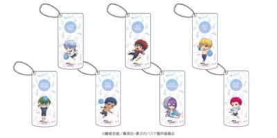 「『黒子のバスケ』POP UP SHOP in 東京キャラクターストリート」ミニキャラ新商品;スライド式小物ケース