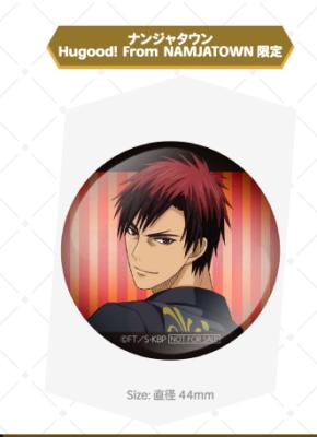 「黒子のバスケ Black Style Collection Ver. Kagami」ラリーゲーム特典 缶バッジ