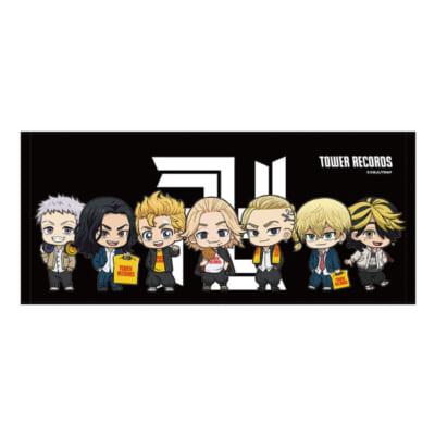 「東京リベンジャーズ×TOWER RECORDS CAFE」タオル