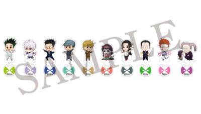 「HUNTER×HUNTER」選挙編×アニメイトカフェトレーディングアクリルスタンド