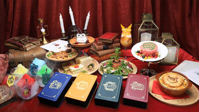 「ハリポタカフェ」魔法界をイメージしたメニュー!ハグリットがハリーに贈ったケーキは天才