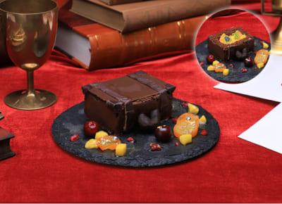 「ハリー・ポッターカフェ」魔法のトランクケーキ