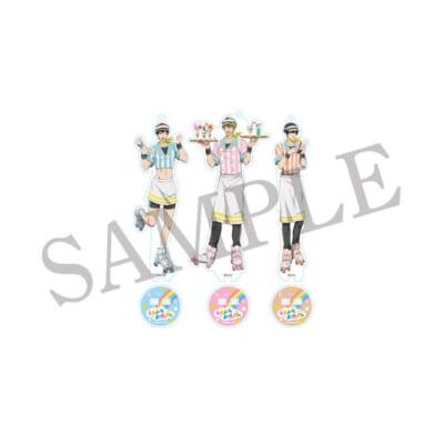 TVアニメ「うらみちお兄さん」×「アニメイトカフェ」BIGアクリルスタンドキーホルダー