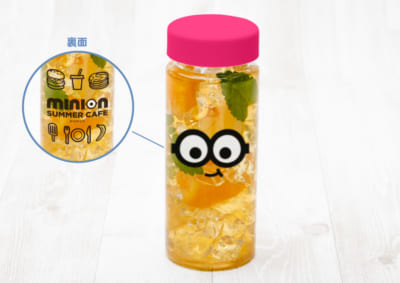 「MINION SUMMER CAFE」ミニオン クリアボトルフルーツティー