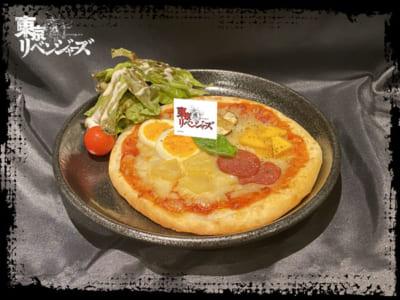 「東京リベンジャーズ×TOWER RECORDS CAFE」東京卍曾 5種のピザ