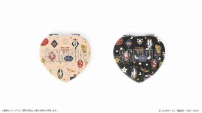 アニメ「カードキャプターさくら」展 -Memories of SAKURA- ハート型折りたたみミラー
