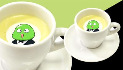 「HUNTER×HUNTER」選挙編×アニメイトカフェビーンズの冷製クリームスープ