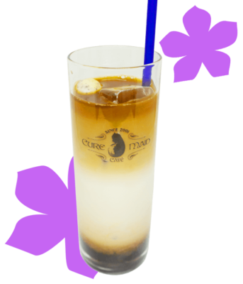 「あの花」カフェ~10thアニバーサリー~ぽっぽ