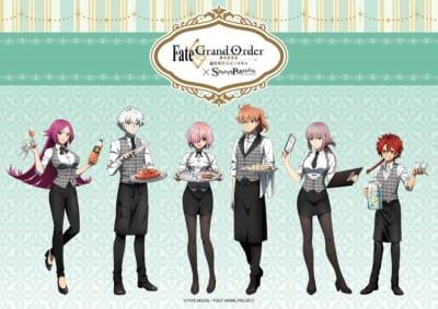 「Fate/Grand Order -終局特異点 冠位時間神殿ソロモン-」×「スイーツパラダイス」描き下ろし
