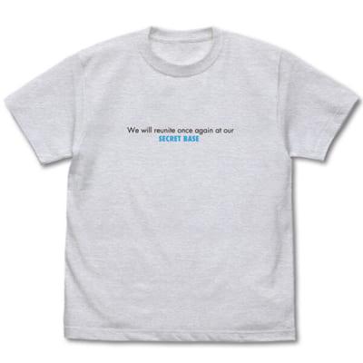 「あの花」カフェ~10thアニバーサリー~メッセージ Tシャツ