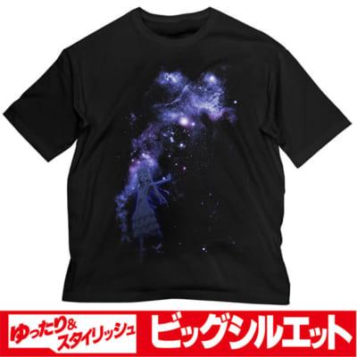 「あの花」カフェ~10thアニバーサリー~夜空とめんま ビッグシルエットTシャツ