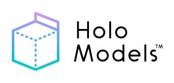 「HoloModels™」ロゴ