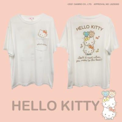 """Sanrio characters""""タテノリ"""" ハローキティ Tシャツ"""