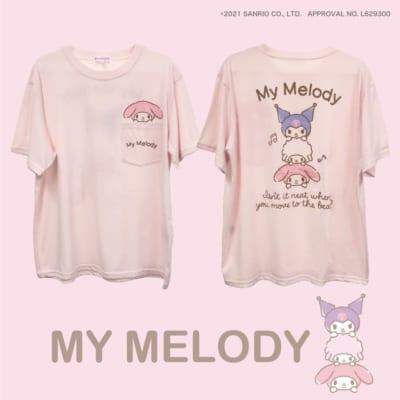 "Sanrio characters""タテノリ"" マイメロディTシャツ"