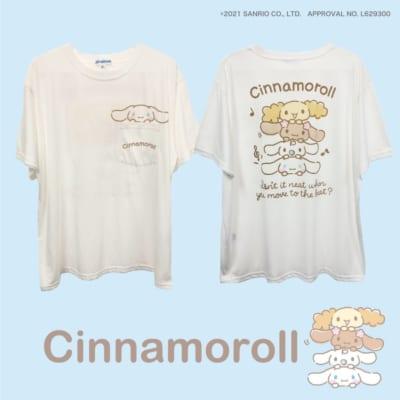 "Sanrio characters""タテノリ"" シナモロールTシャツ"