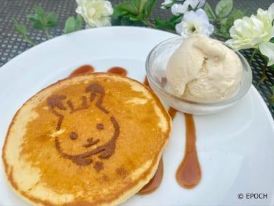 Tully's Coffee(タリーズコーヒー)ショコラウサギの女の子のキッズパンケーキ