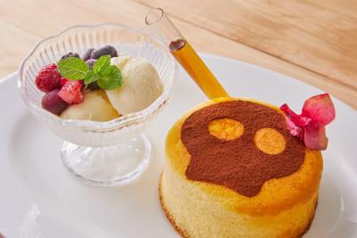 TVアニメ「SHAMAN KING」× Chugai Grace Cafe ファウストⅧ世とエリザのホットケーキ