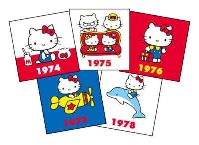 「HELLO KITTY なつかしのアイテムコレクション」メッセージカード
