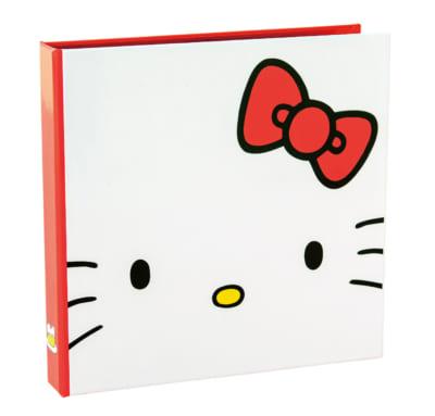 「HELLO KITTY なつかしのアイテムコレクション」メッセージカード収納ファイル