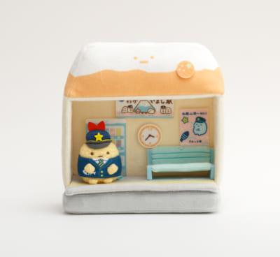 「すみっコぐらし×南海電車」シーンぬいぐるみ3,850円(税込)