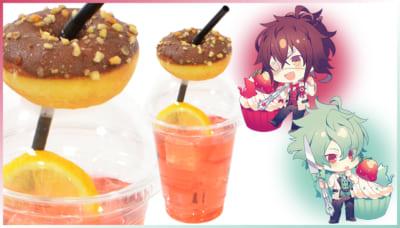 「AMNESIA」・「Collar×Malice」× アニメイトカフェ 尊&峰雄のドーナツいちごレモネード