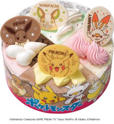 「31ポケ夏!キャンペーン」ポケモン パレットケーキ