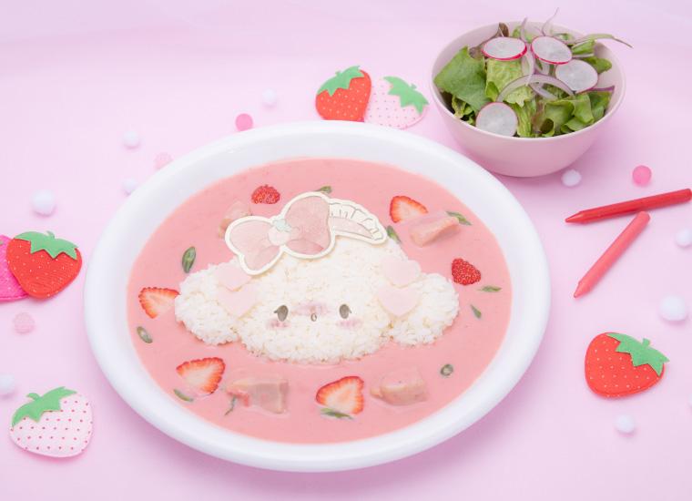 「こぎみゅん初恋カフェ」ピンクのメニューが映え!描き下ろしアートを使用したグッズも登場