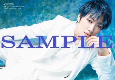 「声優グランプリplus homme vol.3」ゲーマーズ:七海ひろきブロマイドB