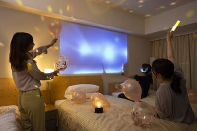 「東京ドームが見えるお部屋で!推し活宿泊プラン」イメージ