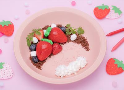「こぎみゅん初恋カフェ」こぎみゅんのいちごファームへようこそみゅん‥!初摘み♡恋のいちごケーキ
