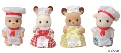 「シルバニアファミリーわくわくフェスタ2021」森のキッチン限定の赤ちゃん人形