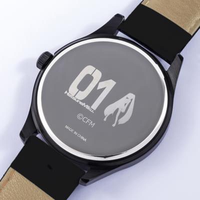 「初音ミク」×「SuperGroupies」腕時計 裏