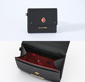 「ディズニー ツイステッドワンダーランド×サマンサタバサ」ハーツラビュル寮Mini Folded Wallet