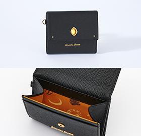 「ディズニー ツイステッドワンダーランド×サマンサタバサ」サバナクロー寮Mini Folded Wallet