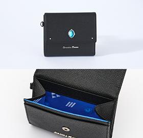 「ディズニー ツイステッドワンダーランド×サマンサタバサ」イグニハイド寮Mini Folded Wallet