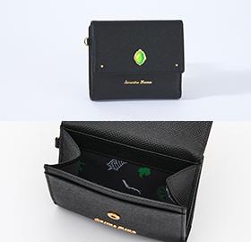 「ディズニー ツイステッドワンダーランド×サマンサタバサ」ディアソムニア寮Mini Folded Wallet