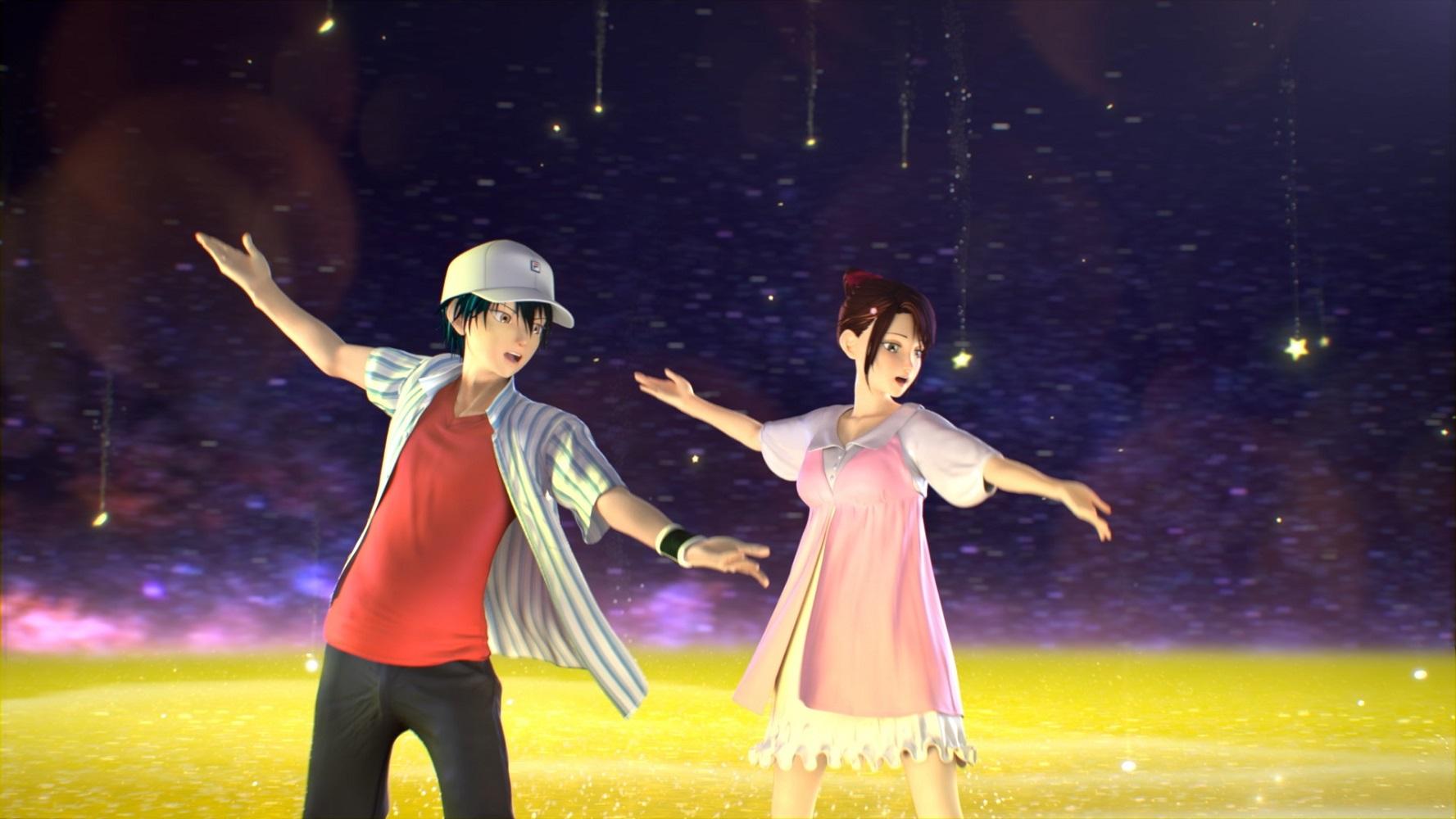 リョーマと桜乃がデュエット&ダンス!?「新生劇場版テニスの王子様」特別映像が解禁