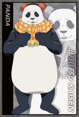 「呪術廻戦 -OIOI出張所-」グッズ購入特典 ポストカード:パンダ