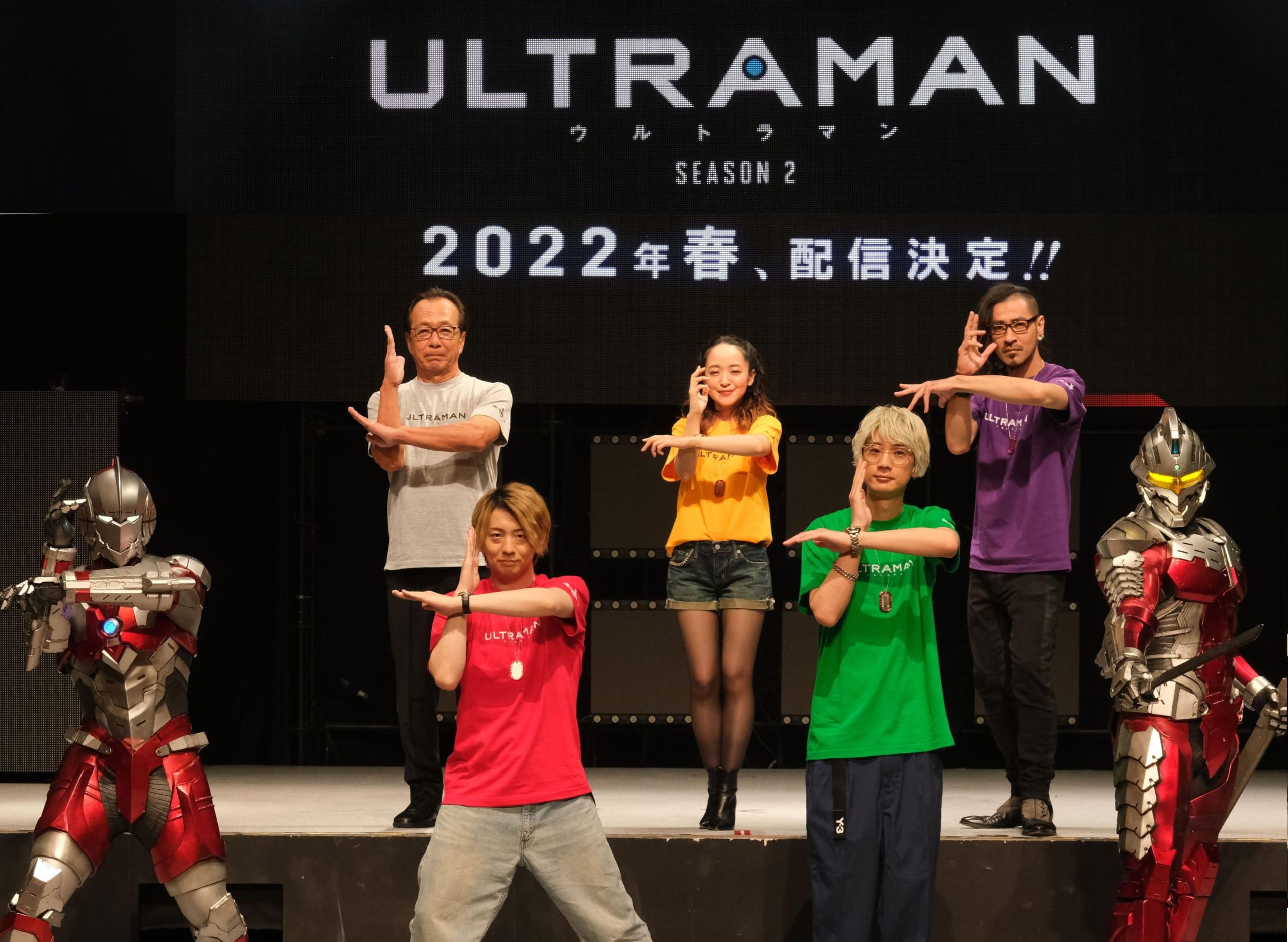 アニメ「ULTRAMAN」木村良平さん・江口拓也さんら声優陣登壇のイベントレポート到着!キャストコメントも