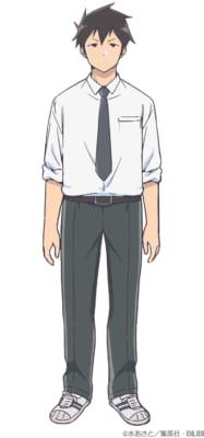 「阿波連さんははかれない」キャラクタービジュアル・ライドウ