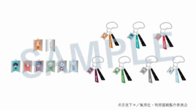 呪術廻戦 バッグチャーム パーカーVer. (全7種):各税込1,540円