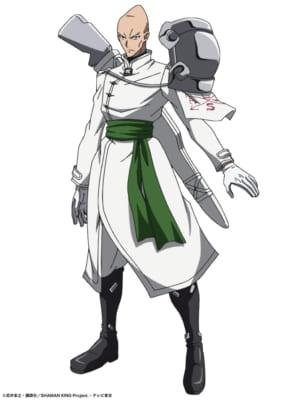 TVアニメ「SHAMAN KING」ポーフ・グリフィス(CV.宮園拓夢さん)