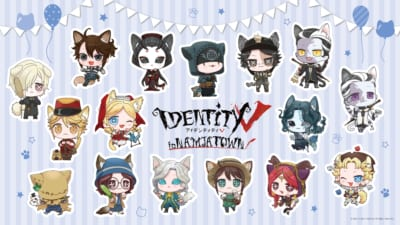 「IdentityV 第五人格×ナンジャタウン」ミニキャライラスト