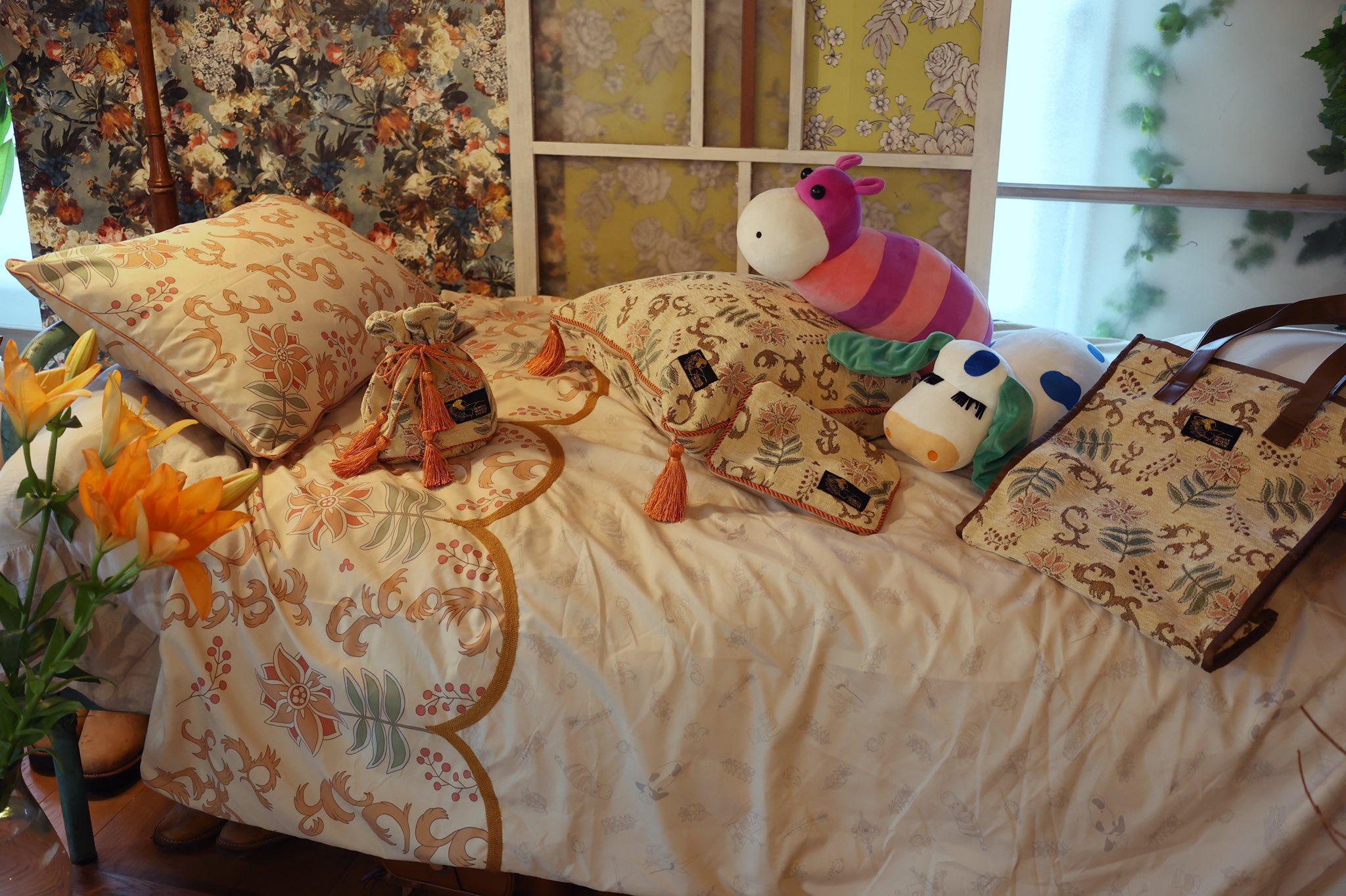 ハウルの部屋を再現できる!ベッドカバーやぬいぐるみセットでジブリ部屋を作ろう