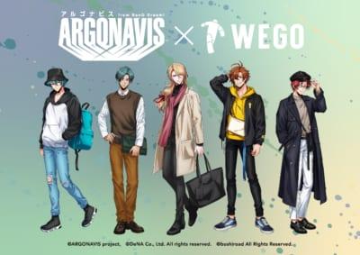 ARGONAVIS from BanG Dream!×WEGOコラボ第2弾
