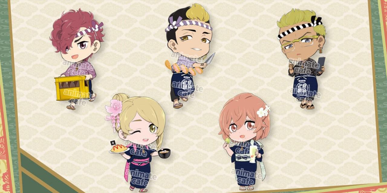 「東リベ×アニメイトカフェ」描き起こしミニキャラ・新たに5人が追加!ついに稀咲の姿が…!
