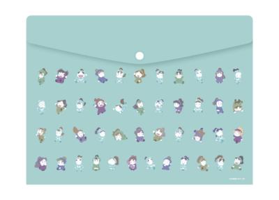 「忍たま乱太郎×ジョイポリス忍術学園音楽祭の段」オリジナルグッズ フラットケース(全1種):1,700円