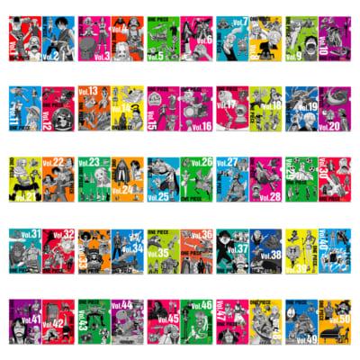「一番くじ ワンピース vol.100 Anniversary」N賞 ヒストリークリアファイルセット vol.1-vol.50