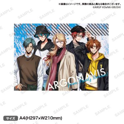 ARGONAVIS from BanG Dream!×WEGOコラボ第2弾 クリアファイル WEGOver.