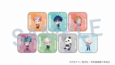 呪術廻戦 缶タブレットケース パーカーVer.(全7種):各税込550円